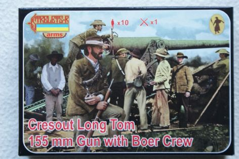 Strelets 1/72 STA014 155mmCresout Long Tom Gun with Boer Crew (Colonial)